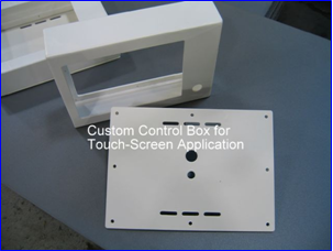 Custom Control Box for Touch Screen Applications