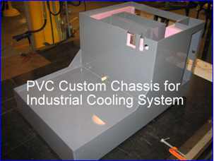 PVC Chassis for Industrial Cooling System